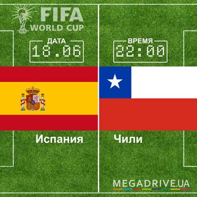 Угадай счет матча Испания - Чили – получи приз!