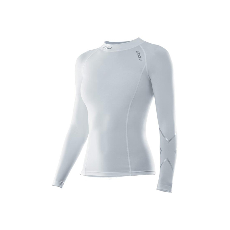 Женская компрессионная футболка Compression L/S Top 2XU WA1985a