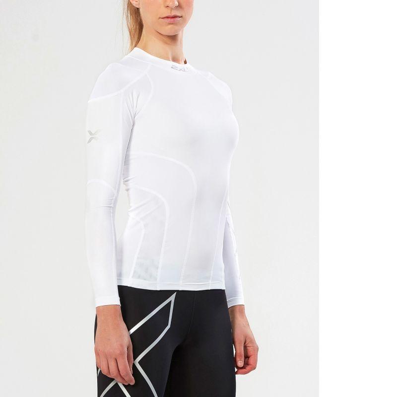 Женская компрессионная футболка Elite Compression L/S Top 2XU WA2219a