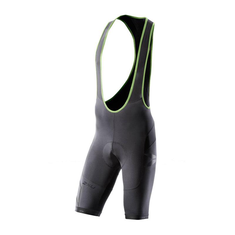Мужские компрессионные шорты для велоспорта с лямками 2XU MC2333b