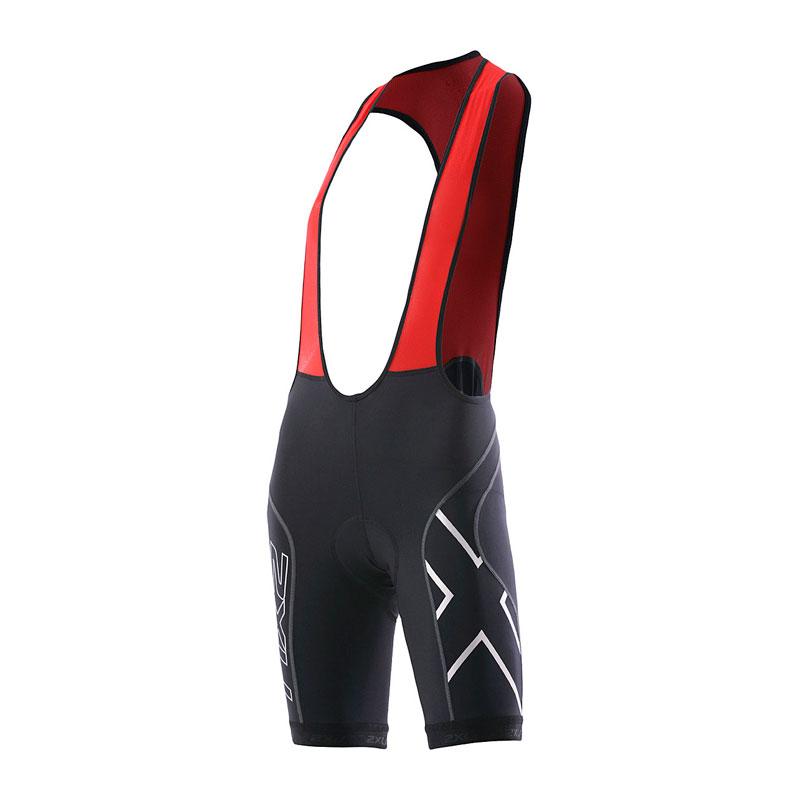 Женские компрессионные вело-шорты Compression Bib Short 2XU WC2031b