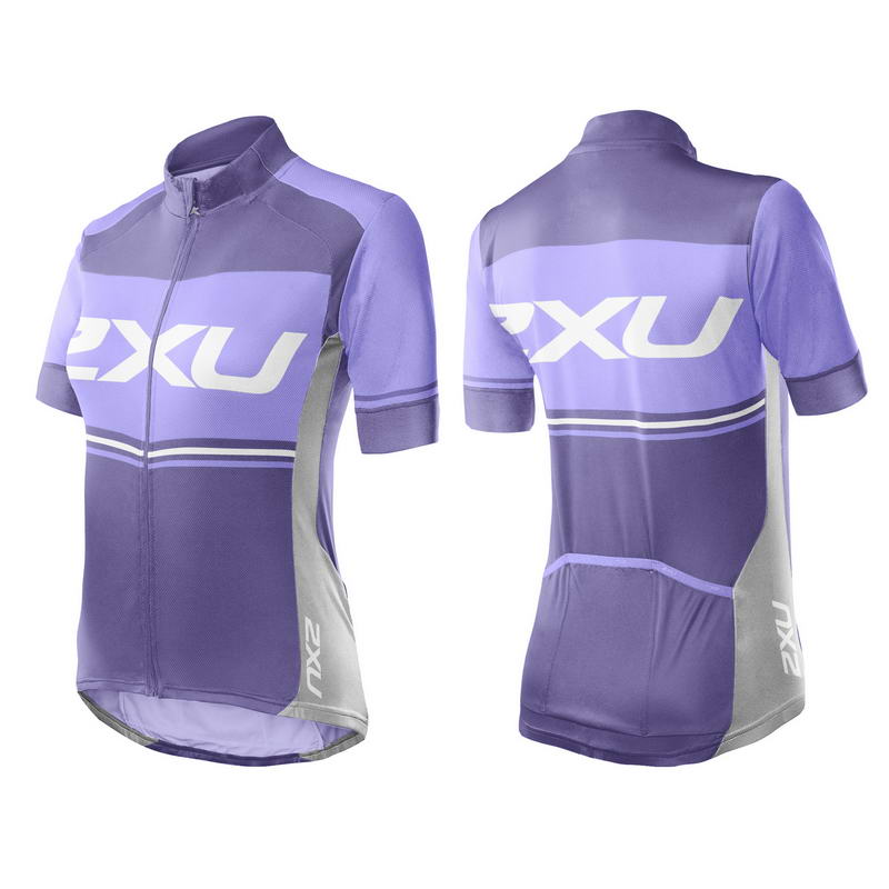Женская вело-футболка Sub Jersey 2XU WC3269a