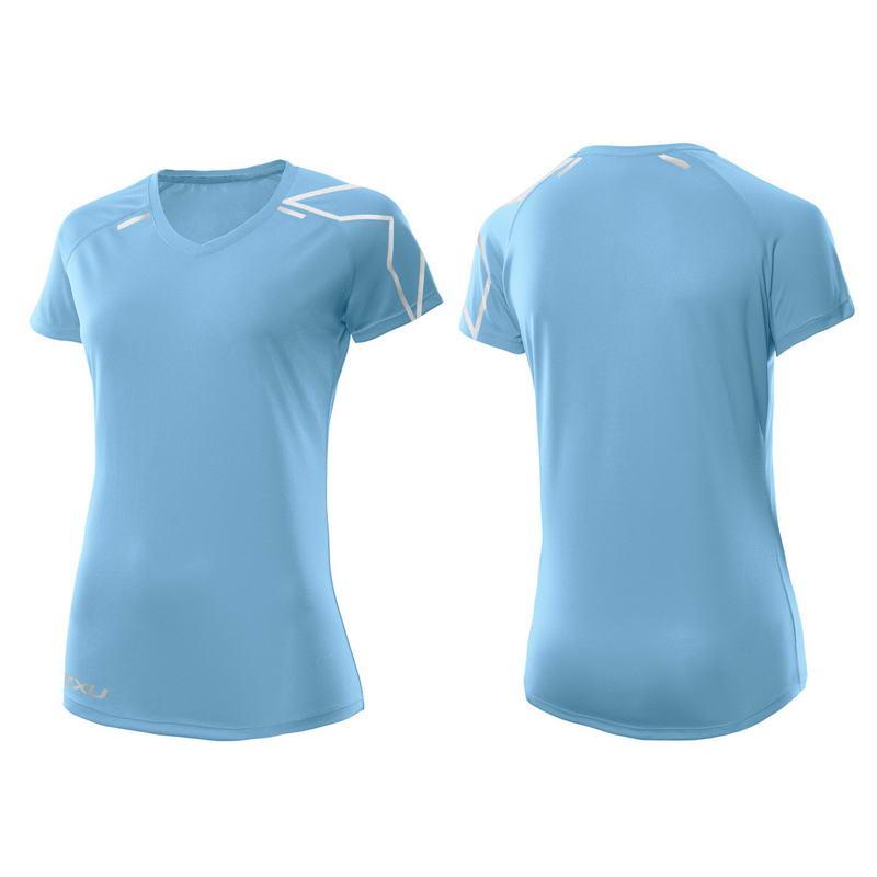 Женская футболка для бега 2XU WR3169a