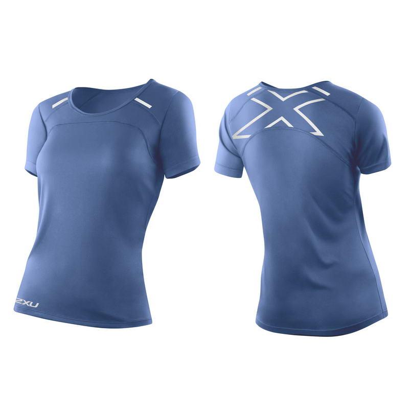 Женская футболка для бега 2XU WR3164a