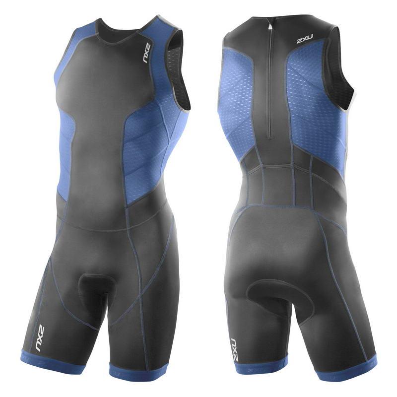 Мужской костюм для триатлона Perform Rear Zip Trisuit 2XU MT3198d