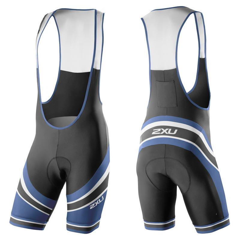 Мужские шорты для велоспорта с лямками 2XU MC3268b