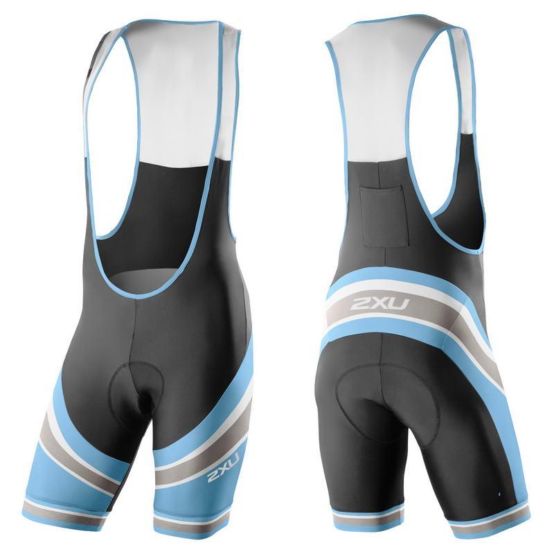 Мужские вело-шорты Sub Bib Short 2XU MC3268b