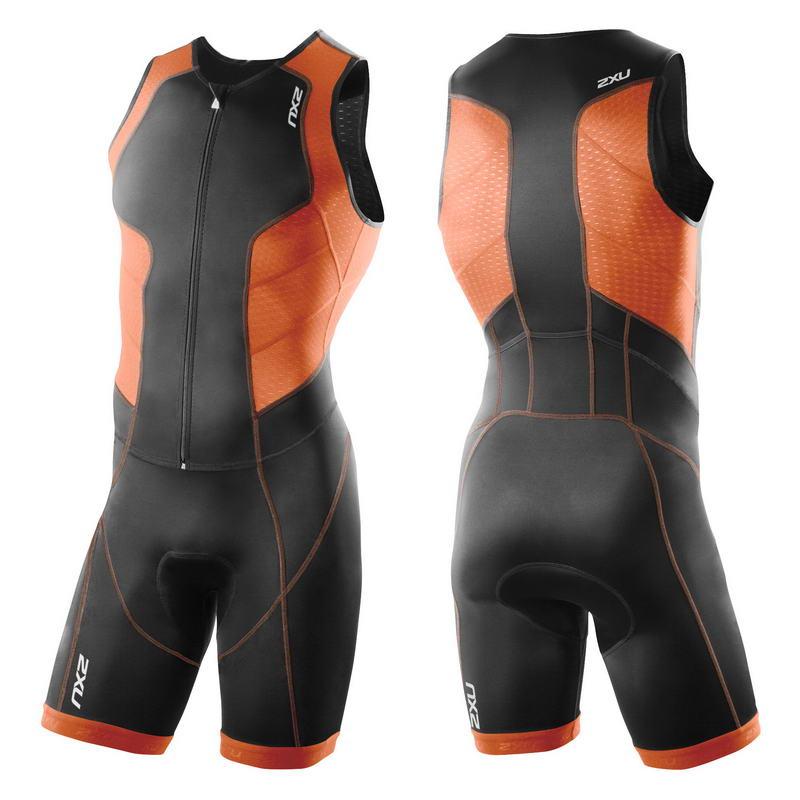 Мужской костюм для триатлона Full Zip Trisuit 2XU MT3185d