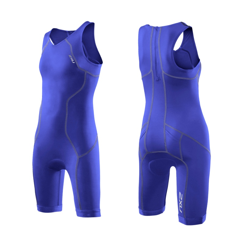 Юношеский костюм для триатлона (для девушек) Youth Trisuit 2XU CT2722d