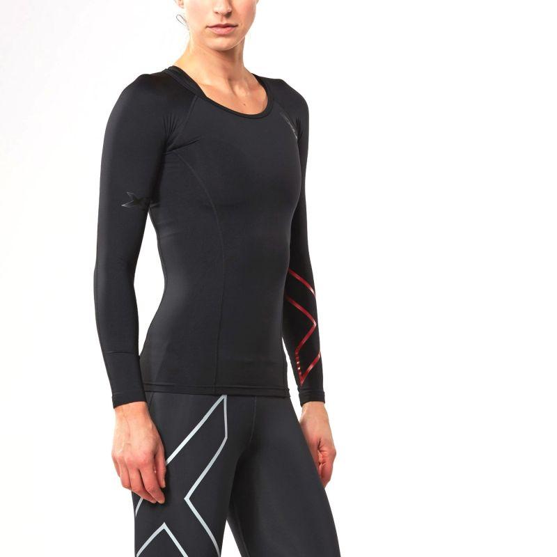 Женская компрессионная футболка Thermal Compression L/S Top 2XU WA3022a