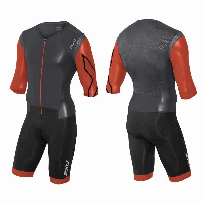 Мужской костюм для триатлона Project X Trisuit 2XU MT3261d