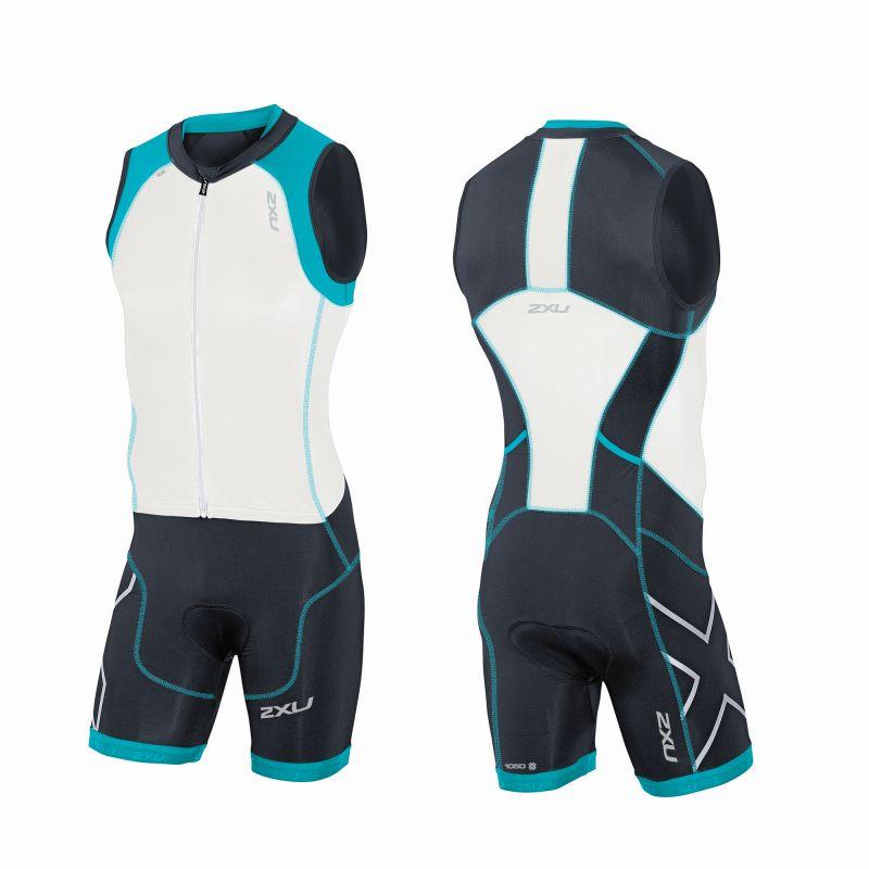 Мужской костюм для триатлона Compression Full Zip Trisuit 2XU MT3614d