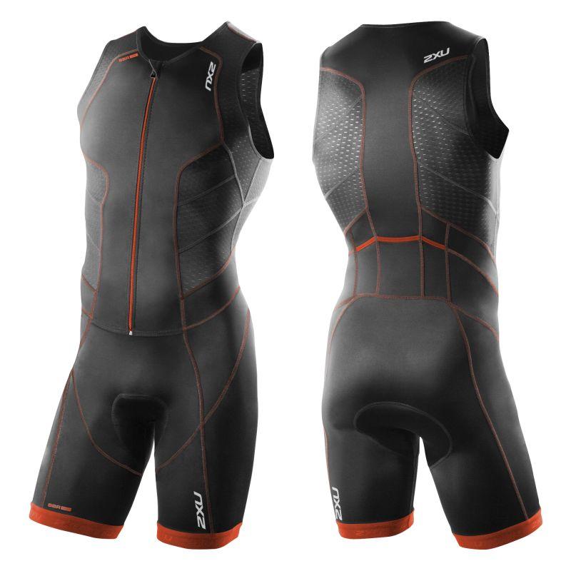 Мужской костюм для триатлона Perform Full Front Zip Trisuit 2XU MT3859d