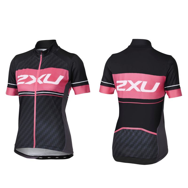 Женская вело-футболка Perform Pro Jersey 2XU WC3719a