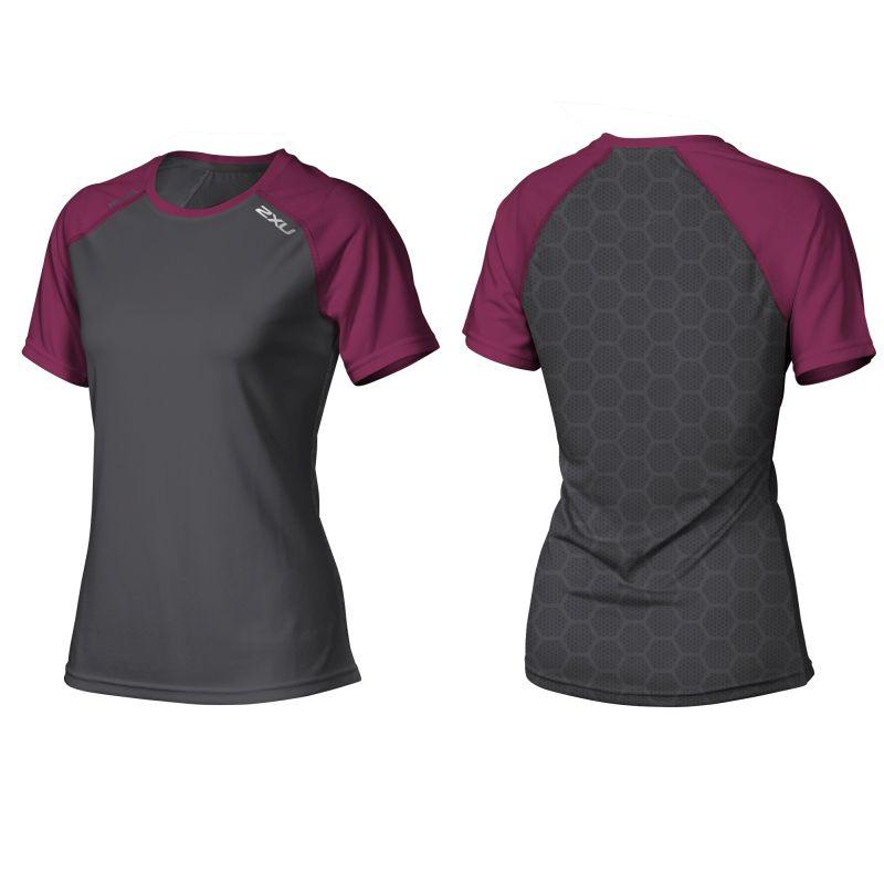 Женская футболка Tech Vent 2XU WR3763a