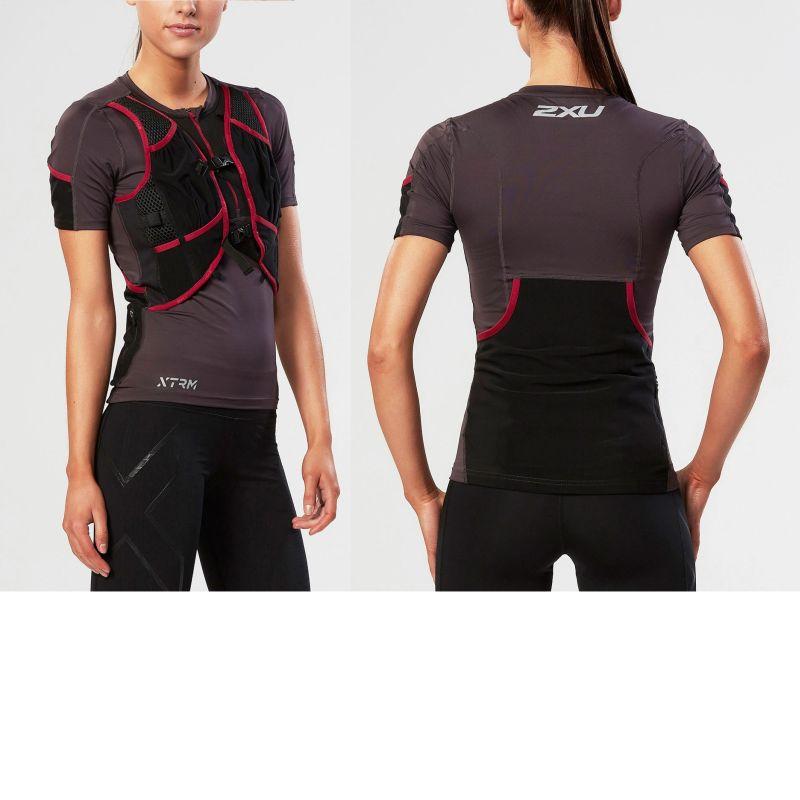 Женская компрессионная футболка XTRM Multifusion 2XU WR3788a