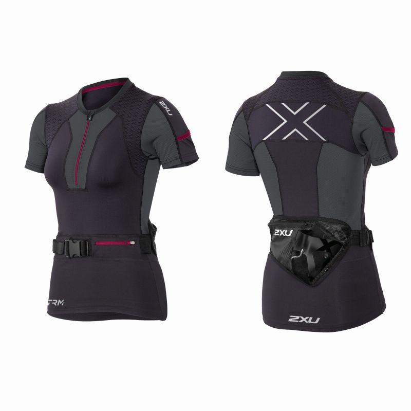 Женская компрессионная футболка XTRM Hydrofusion 2XU WR3829a