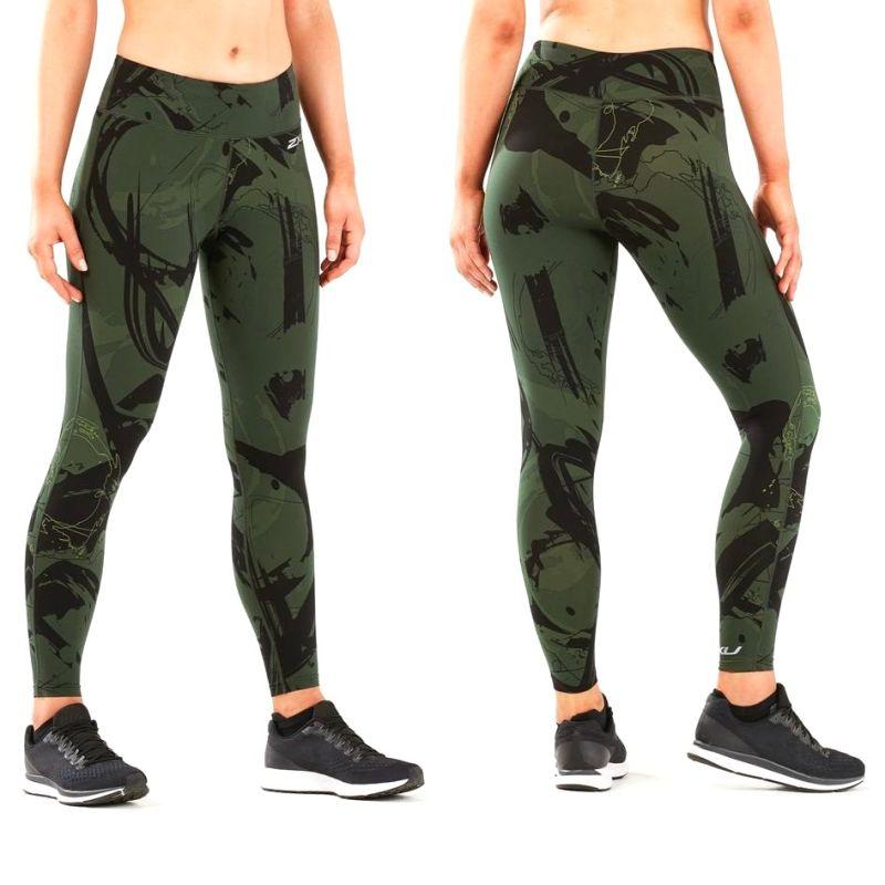Женские компрессионные лосины Print Fitness Mid-Rise 2XU WA5387b