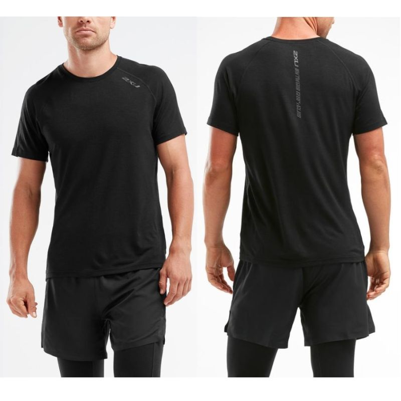 Мужская футболка HEAT Run Tee 2XU MR5262a