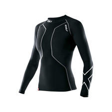 Женские шорты для триатлона Long Distance Tri Short 2XU WT2692bBlackUltramarineBlue