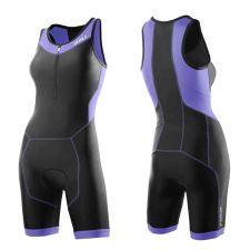 Женский костюм для триатлона Perform Trisuit 2XU WT2707dBlackAmethyst