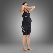 Женские компрессионные шорты для предродового периода 2XU WA3597b