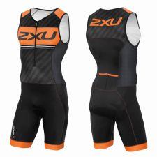 Мужской костюм для триатлона на молнии 2XU MT3622d