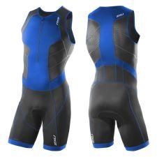 Мужской костюм для триатлона Perform Front Zip Trisuit 2XU MT3858d