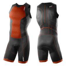 Мужской костюм для триатлона Perform Rear Zip Trisuit 2XU MT3860d