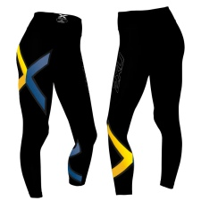 Женские компрессионные тайтсы средней посадки Mid-Rise Compression Tights 2XU WA2864ua