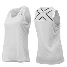 Женская компрессионная футболка Compression S/S Top 2XU WA1983aBlackSilver
