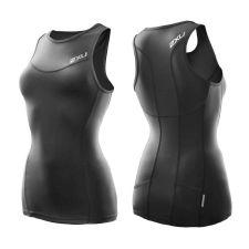 Женские шорты для триатлона Long Distance Tri Short 2XU WT2692bBlackUltramarineBlue