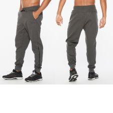 Мужские брюки COMMUTE Trackpant 2XU MR6273bCharcoalMarleBlack