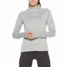 Женская толстовка PURSUIT Thermal1/4 Zip 2XU WR6233aGreyMarleSilverReflective