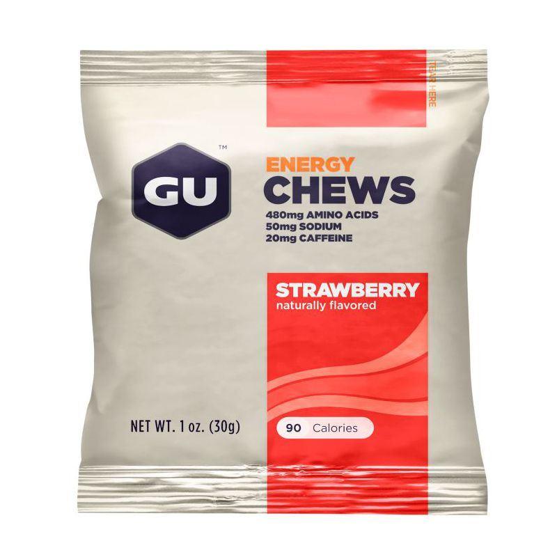 Жевательные конфеты GU 1 пакет, Клубника