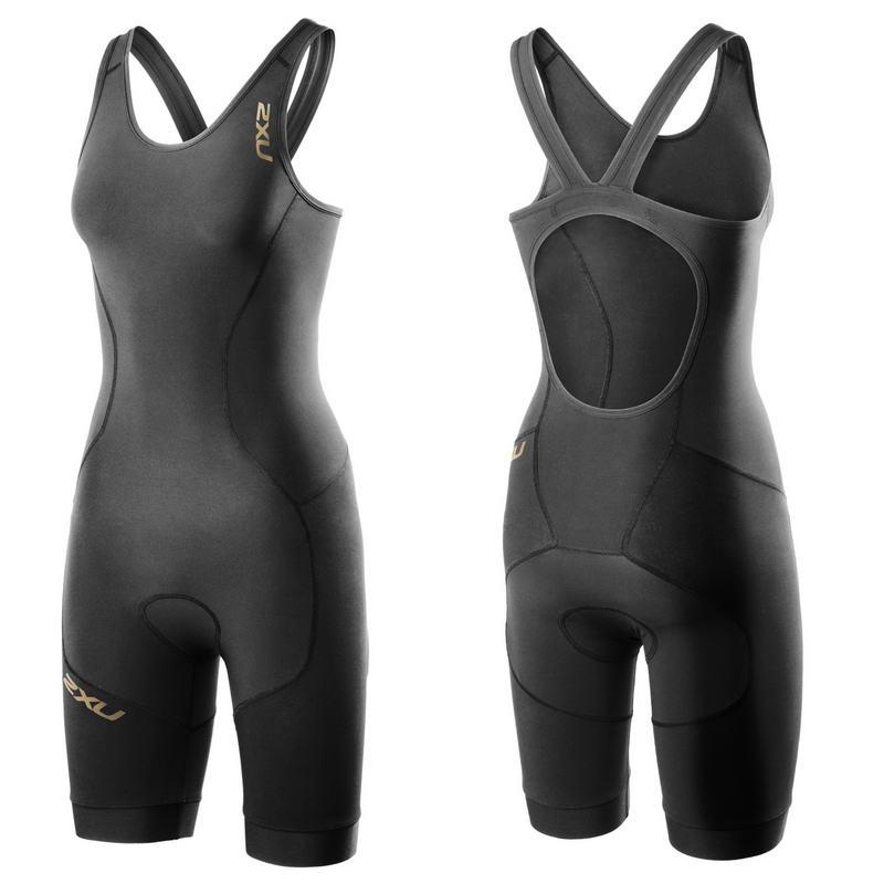 Женский костюм для триатлона Elite X Short Course Trisuit 2XU WT3187dBlack