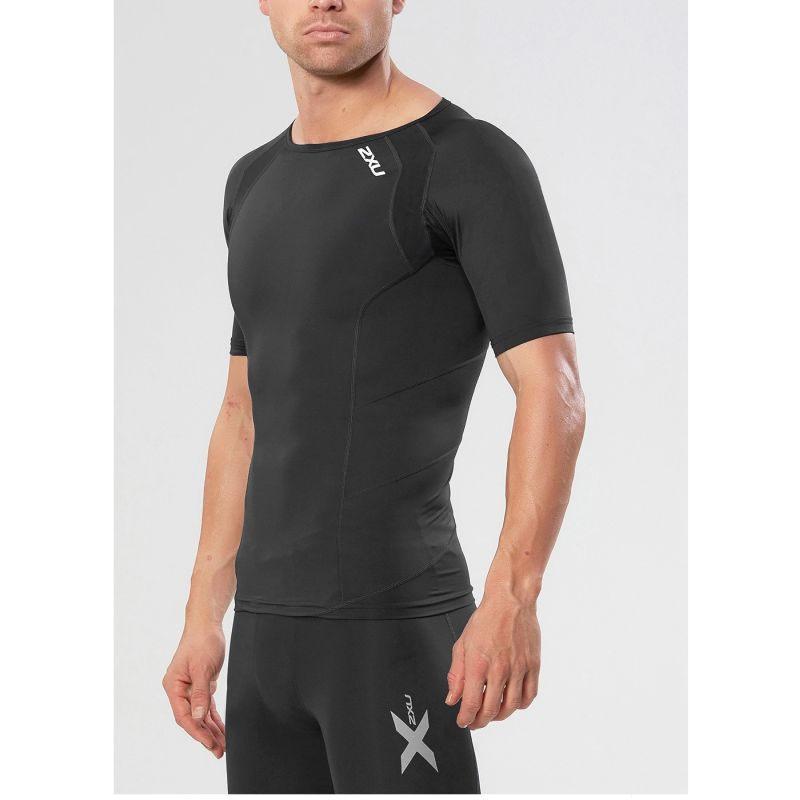 Компрессионная футболка КР Base 2XU MA2307aBlackBlack