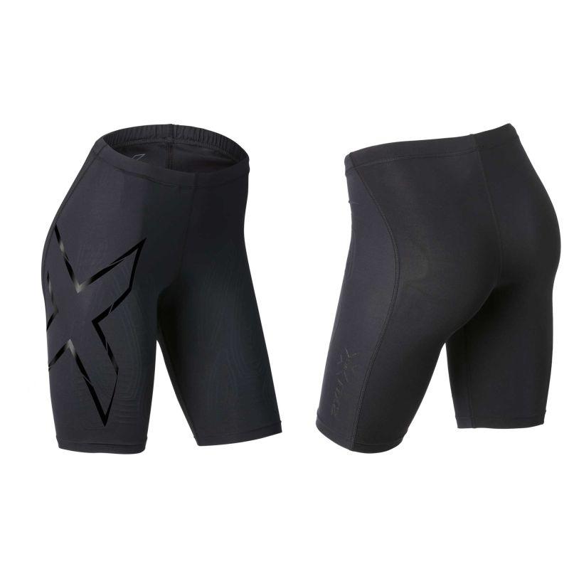 Женские компрессионные шорты Run MCS 2XU WA3061RUNBlackNero