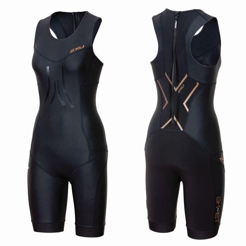 Женский костюм для триатлона GHST SWIM SKIN 2XU WT3605dBlackGold