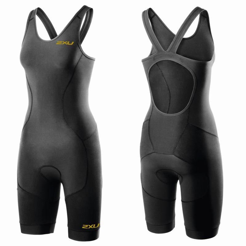Женский костюм для триатлона GHST Trisuit 2XU WT3606dBlackGold