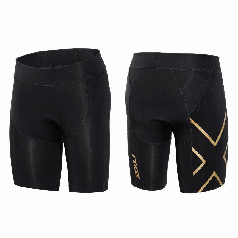 Женские шорты для триатлона Project X Tri Short 2XU WT3612bBlackGold