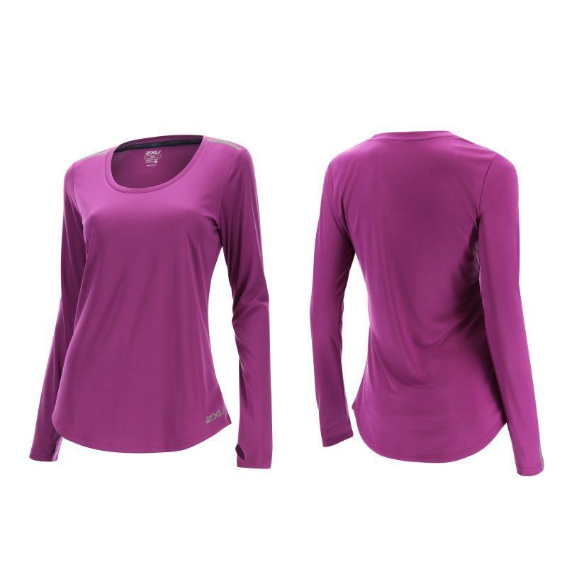 Женская футболка с длинным рукавом ICE X 2XU WR4071aFuchsia