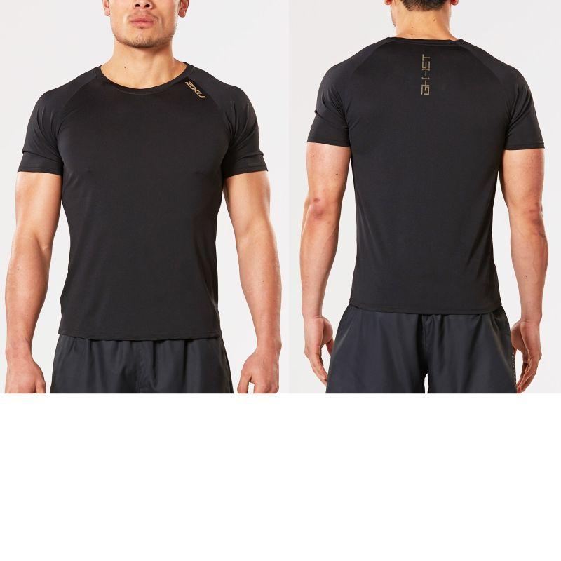 Мужская футболка GHST 2XU MR4250aBlackGold