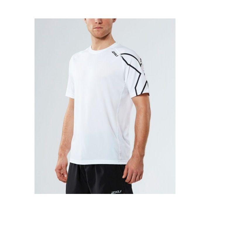 Мужская футболка Active 2XU MR4267aWhiteBlack