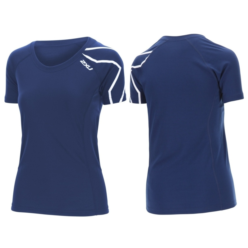 Женская футболка КР Active 2XU WR4292aBlue