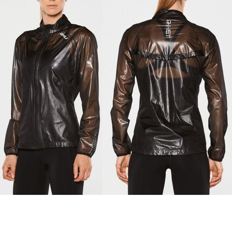 Женская куртка GHST 2XU WR4277aBlackSilver