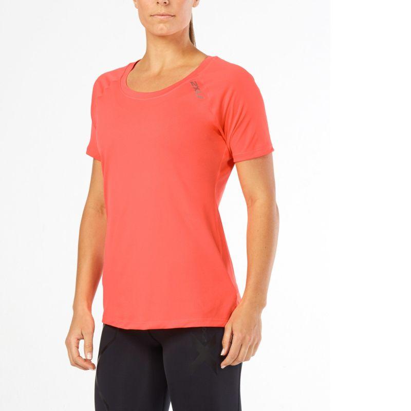 Женская футболка GHST 2XU WR4273aFieryCoralGold