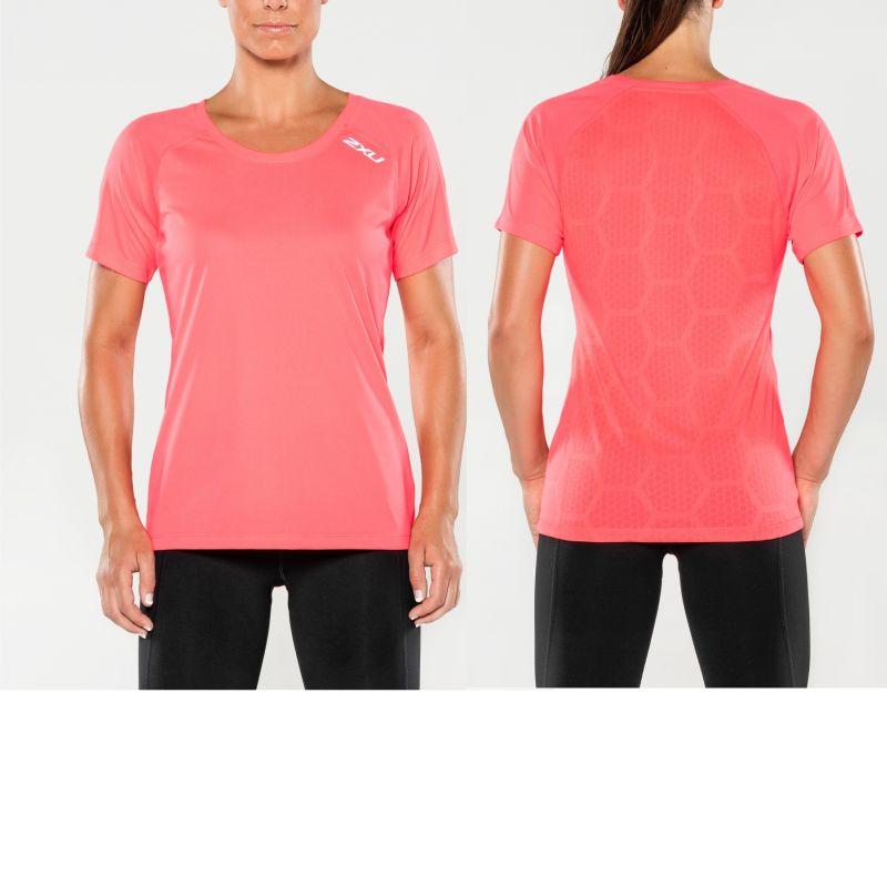 Женская футболка Xvent 2XU WR4592aPinkGlow