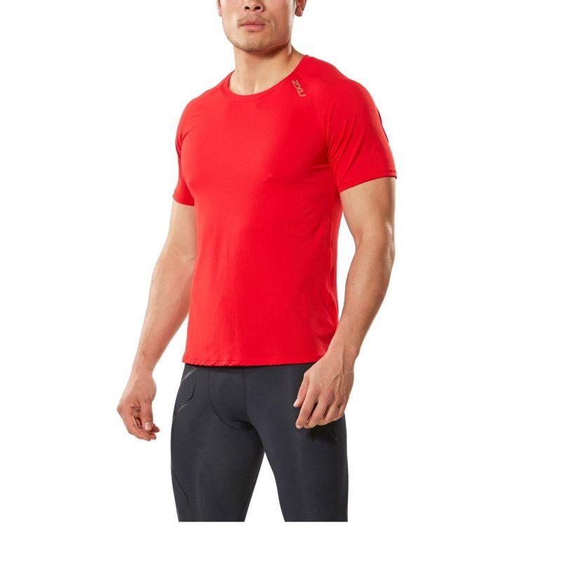 Мужская футболка GHST 2XU MR4250aFlameScarletGold