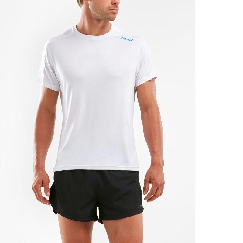 Мужская футболка КР Xvent G2 2XU MR6143aWhiteBlue